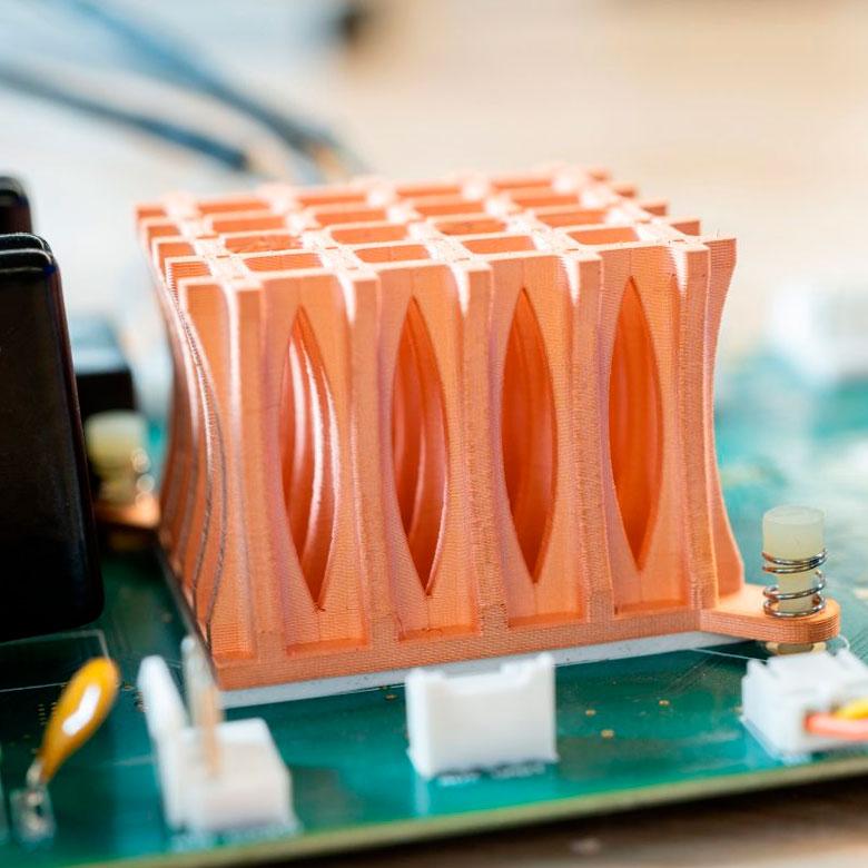 Impresión 3D Metal X de Markforged - cobre