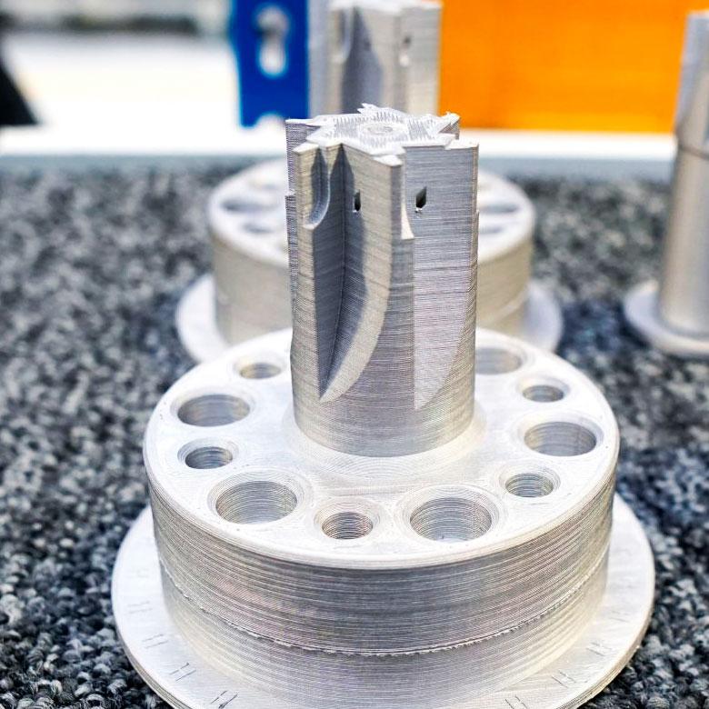 Impresión 3D Metal X de Markforged - acero H13 para herramientas