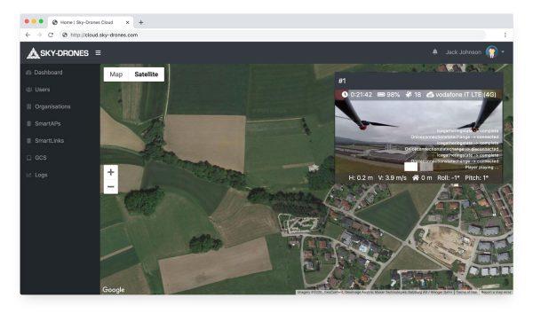 Cloud Live - Sky-drones - GreenTech Factory