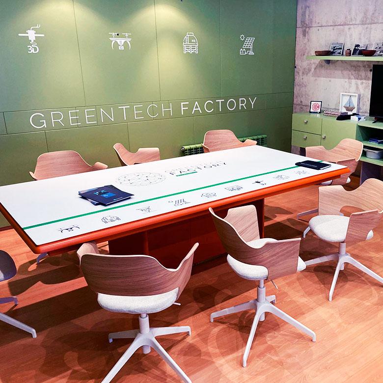 Industria 4.0 - Producir de forma local - GreenTech Factory