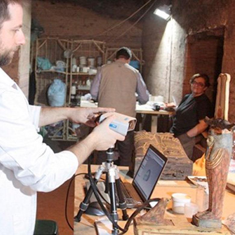 Impresión 3D Composites - Conservación del patrimonio y restauración