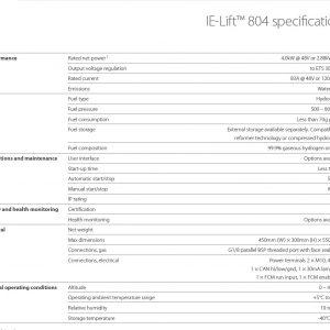Pila de combustible IE Lift 804 - Intelligent Energy - GreenTech Factory