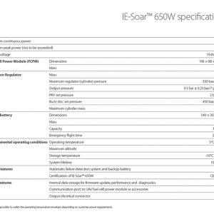 Pila de combustible IE Soar 650W - Intelligent Energy - GreenTech Factory