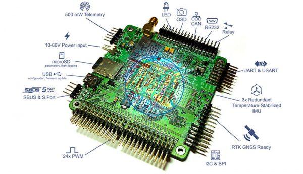 SmartAP PRO – controlador de vuelo autónomo - Sky-drones - GreenTech Factory